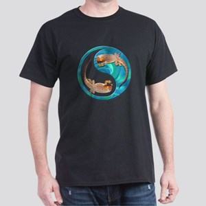 Yin Yang Bearded Dragon Dark T-Shirt